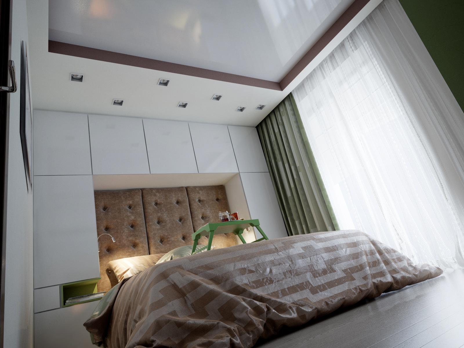 Квартира студия дизайн минимализм