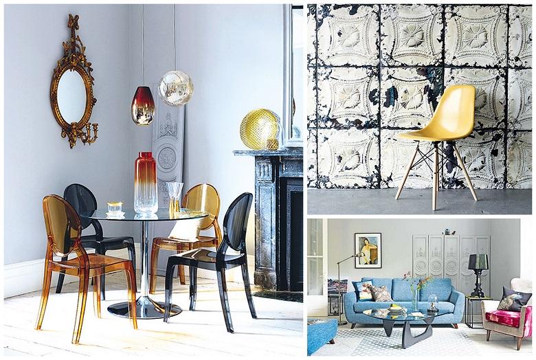 старое и новое в эклектичном дизайне интерьера
