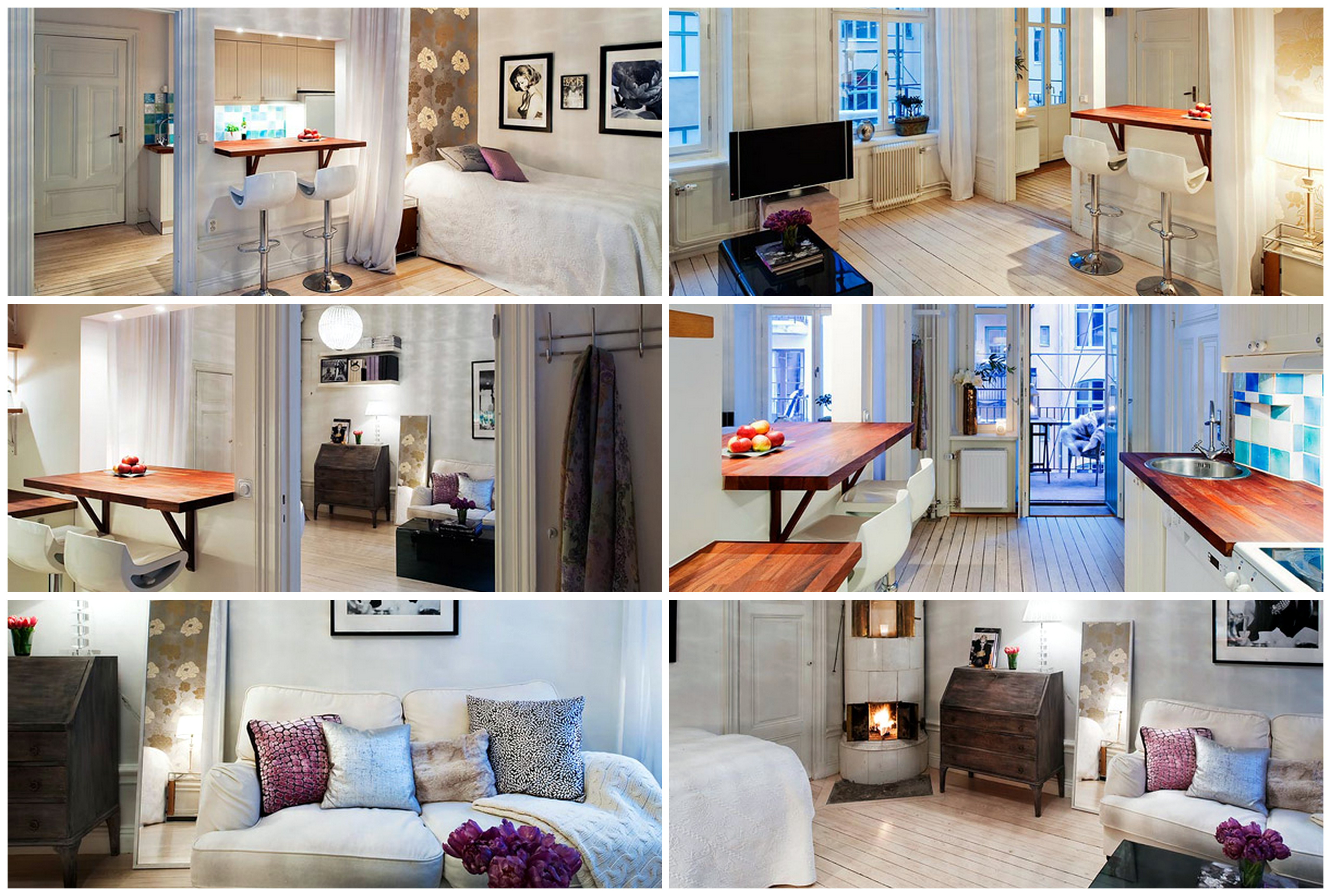 Дизайн однокомнатной квартиры простые